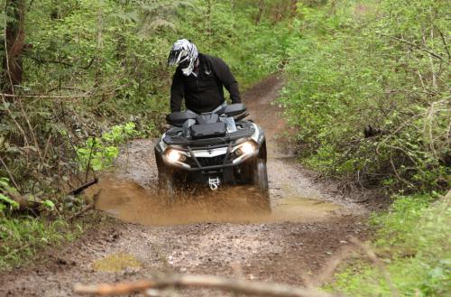 2013 Can-Am Outlander MAX 1000 Limited Mud