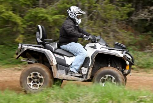 2013 Can-Am Outlander MAX 1000 Limited Profile Right