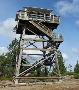 East Fort Rock Trail System Lookout Tower