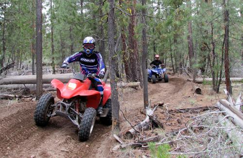 Oregon Sport Quad Riding