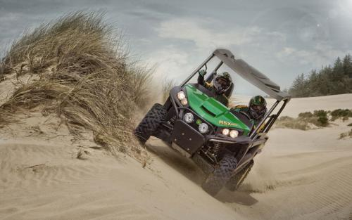 2013 John Deere Gator RSX850i Off-Camber Riding