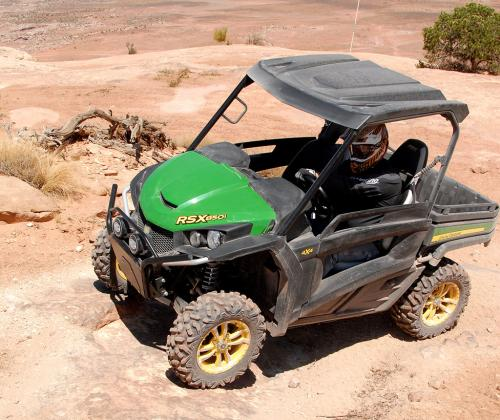 2013 John Deere Gator RSX850i Sport Action 1