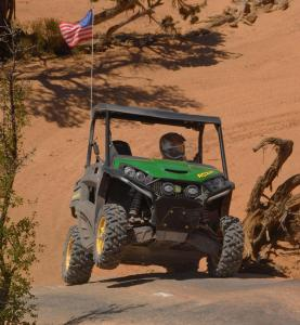 2013 John Deere Gator RSX850i Sport Action 3