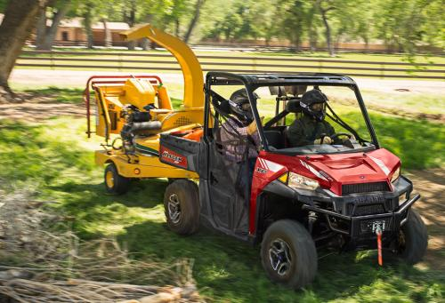 2013 Polaris Ranger XP 900 Chipper