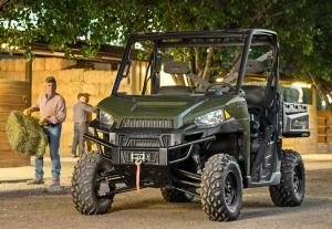 2013 Polaris Ranger XP 900 Working