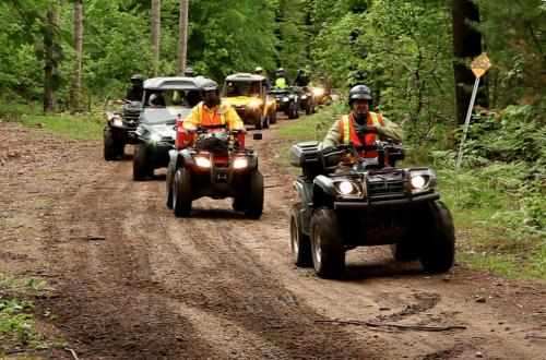 Central Ontario ATV Club Group Ride