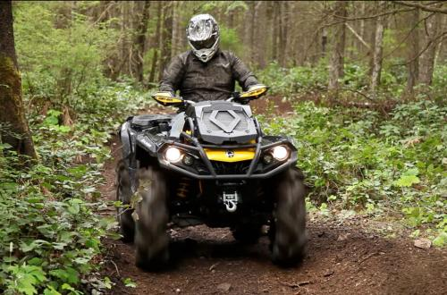 2013 Can-Am Outlander 1000 X mr Action Trail