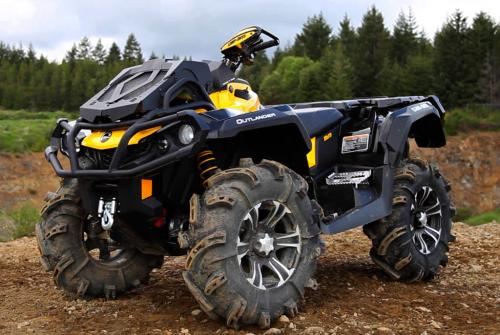 2013 Can-Am Outlander 1000 X mr Front Left