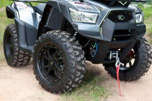 2013 Kymco MXU500i LE Wheels Winch