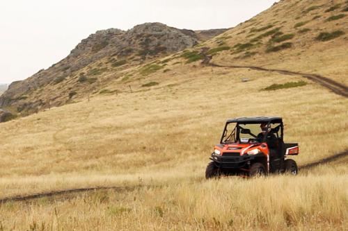 2013 Polaris Ranger XP 900 Action