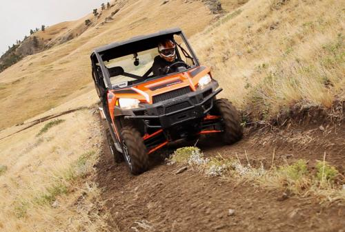 2013 Polaris Ranger XP 900 Action Climbing