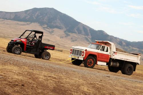 2013 Polaris Ranger XP 900 Towing