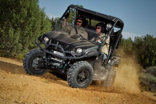 2013 Yamaha Rhino 700 SE Action Cornering