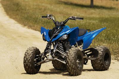 The Raptor 250 has borrowed a lot of features from the YFZ450 and the Raptor 700.