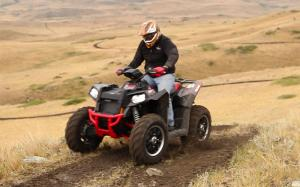 2013 Polaris Scrambler XP 850 LE Front Left