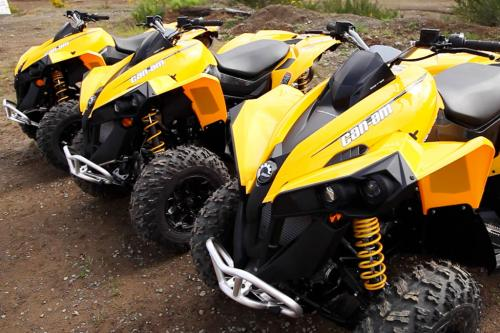acade bombardier atv reviews