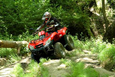 Passing through nasty terrain is not an issue for the MXU 400.