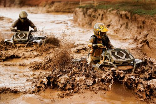2013 Can-Am Outlander 650 X mr Action Mud