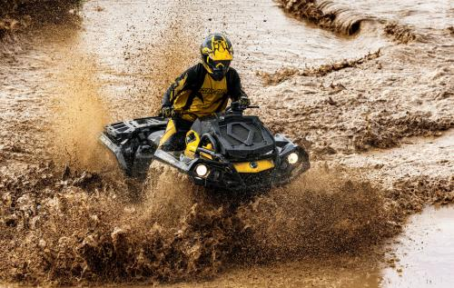 2013 Can-Am Outlander 650 X mr Action Mud 02