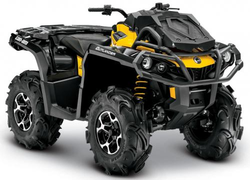2013 Can-Am Outlander 650 X mr Front Right