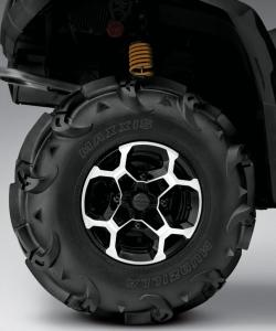 2013 Can-Am Outlander 650 X mr Rear Wheel