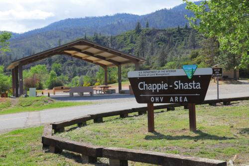 Chappie Shasta OHV Staging Area