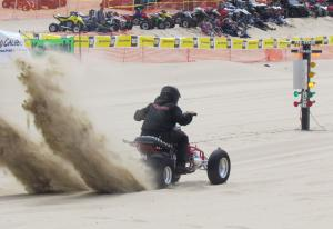 ATV Drag Racing Action Rear