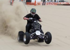 ATV Drag Racing Wheelie