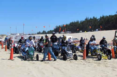 ATV Drag Racing Competitors