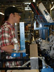 Arctic Cat Engine Assembly Line