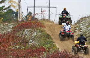 Hydro ATV Trail in Mattawa