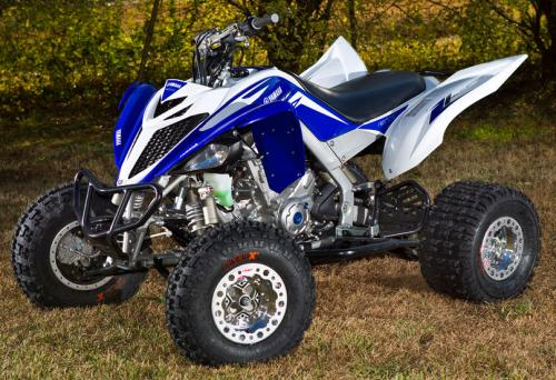 2013 Yamaha Raptor 700 Project Front Left