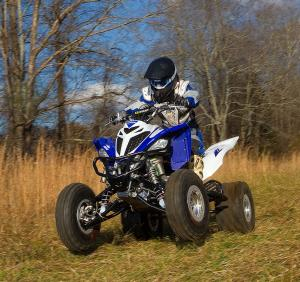 2013 Yamaha Raptor 700 Project Wheelie