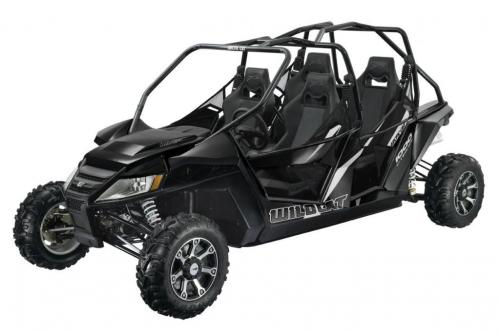 2013 Arctic Cat Wildcat 4 Black