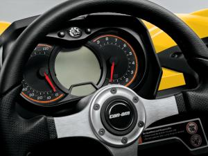 2013 Can-Am Commander 1000 XT Gauges
