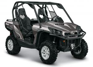 2013 Can-Am Commander 1000 XT Pure Magnesium