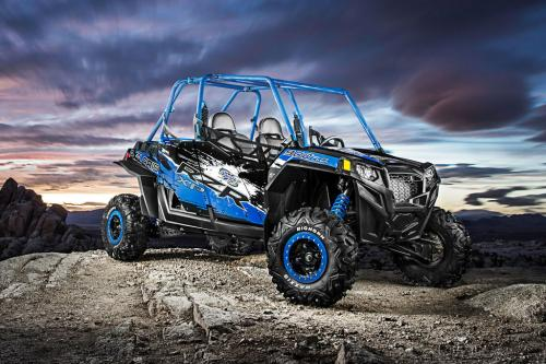 2013 Polaris RZR XP 900 H.O. Jagged X Action 02