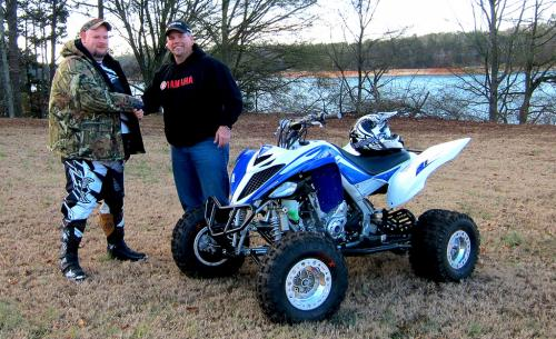 Dewayne Hughes and ATV.com contributing editor Rick Sosebee
