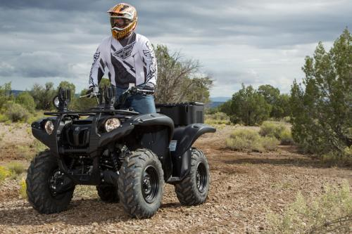 2013 Yamaha Grizzly 700 SE Action