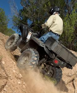 2013 Yamaha Grizzly 700 SE Action Climb