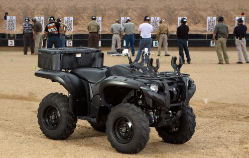 2013 Yamaha Grizzly 700 SE Shooting Range