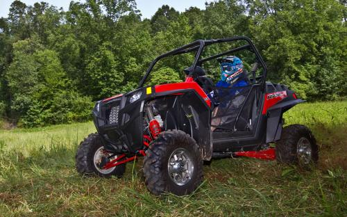 2012 Polaris RZR XP 900 Action Left