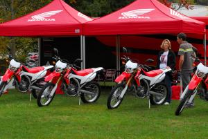 Honda Press Launch Staging Area