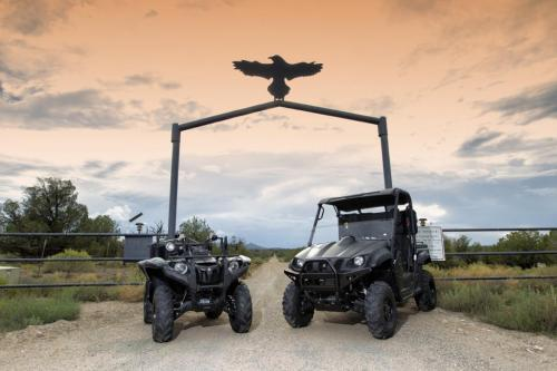 Yamaha Grizzly and Rhino at Gunsite