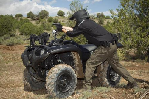 Yamaha Grizzly Gun Training
