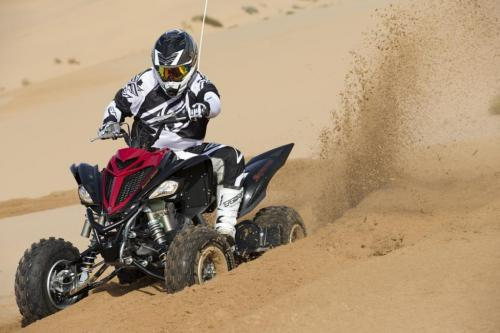 2013 Yamaha Raptor 700SE Action