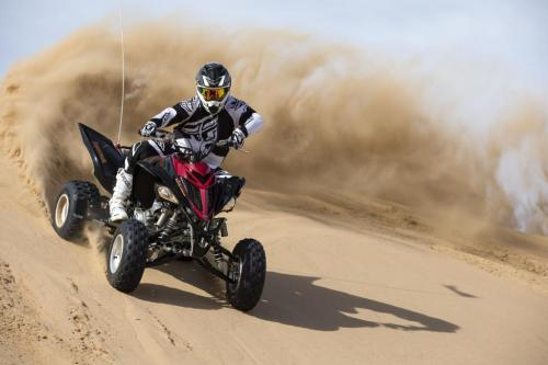 2013 Yamaha Raptor 700SE Action Roost