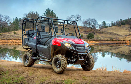 2014 Honda Pioneer 700 Beauty