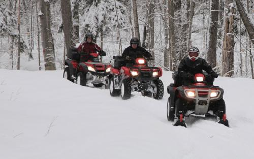 Group ATV Ride in Parry Sound