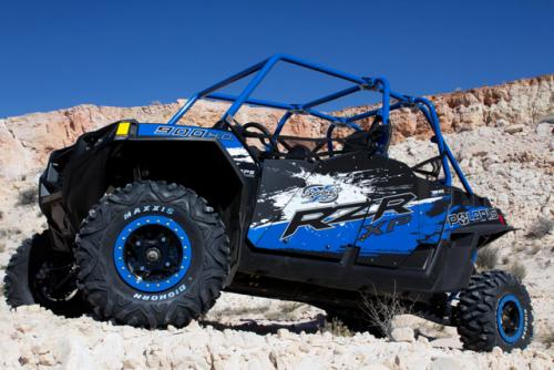 2013 Polaris RZR XP 900 H.O. Jagged X Front Left